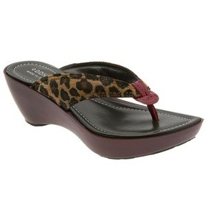 Donald J Pliner Animal Print Sandals, Coryna